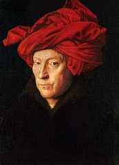 Jan van Eyck (1390-1441) Man with a red Turban  1433