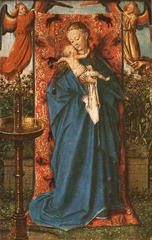Jan van Eyck The Virgin and Child at the fountain