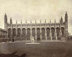 King's College Chapel, 1508-, Cambridge, England.