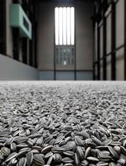 Kui Hua Zi (Sunflower Seeds) Ai Weiwei. 2010-2011 C.E. Sculpted and painted porcelain. The material used, the way it was produced and the narrative/personal content make this work a powerful commentary on the human condition.