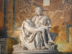 La Pietà, Michelangelo