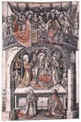 Large Einsiedeln Madonna
