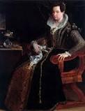 Lavinia Fontana, Portrait of Costanza Alidosi