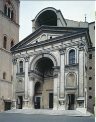 Leon Battista Alberti west façade of Sant' Andrea Mantua, Italy Period: Renaissance