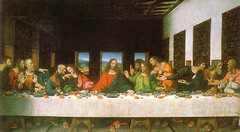 Leonardo da Vinci, Italian. Last Supper, 1495-98.  High Renaissance