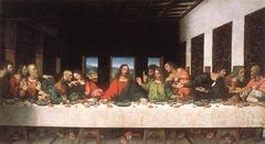 Leonardo Da Vinci  Last Supper Maria della Grazie Milan 1495-1498