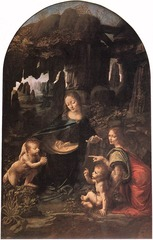 Leonardo Da Vinci  Madonna of the Rocks 1485