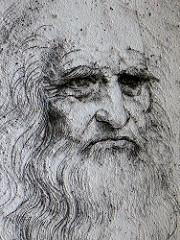 Leonardo da Vinci means Leonardo from or of Vinci.