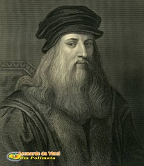 Leonardo da Vinci was a famous artist, scientist, inventor, and architect.