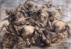 Leonardo Da Vinci Battle of Anghiari  1503-1506