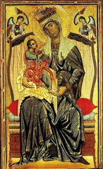 Madonna and Child, Coppo di Marcovaldo, 1265, S. Martino dei Servi, Orvieto, tempera on panel