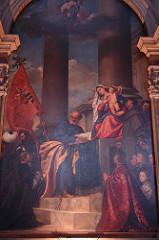 Madonna of the Pesaro Family