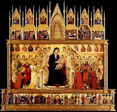 Maesta, Agostinio di Duccio, 1311, siena cathedral altarpiece