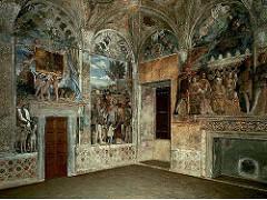 Mantegna, camera degli sposi, castello s giorgio, palazzo ducale, mantua