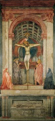 Masaccio (1401-1428/9) The Trinity S, Maria Novella, Florence 1425