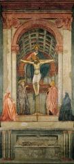 Masaccio Holy Trinity with the Virgin