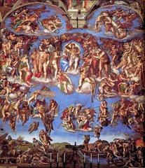 Michelangelo - Last Judgement, Sistine Chapel