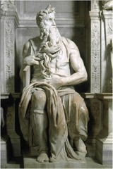 Moses Michelangelo Rome, Italy