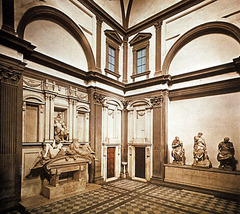 New Sacristy at S. Lorenzo (1526-1533)