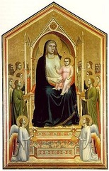 Ognissanti Altarpiece, Giotto, 1305-10, tempera on panel