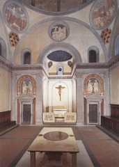 Old Sacristy at San Lorenzo (1418-1428)