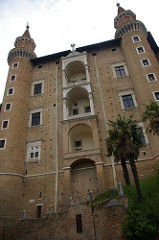 Palazzo Ducale, Francesco Laurana, Francesco Martini, 1468+, Urbino