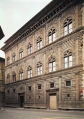 Palazzo Rucellai Alberti Florence, Italy 1450-1500,1446-1451