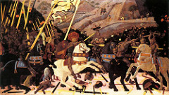 Paolo Uccello (1397-1475) Battle of San Romano c.1438