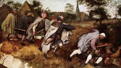 Parable of the Blind Artist: Pieter Bruegel Themes: -Satire: blind leading blind