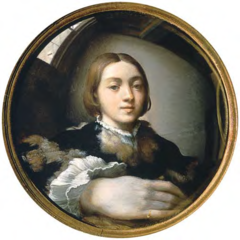 Parmigianino  Self-portrait  1524