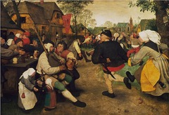 Peasant Kermis Artist: Pieter Bruegel Themes -Population: figures are bigger -Satire: satire of religious procession