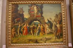 pernassus, mantegna, 1497, ferrara