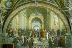Philosophy (The School of Athens) Raphael Rome, Italy