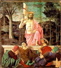 Piero della Francesca (1420-1492) Resurrection  Borgo S. Sepolcro c. 1463