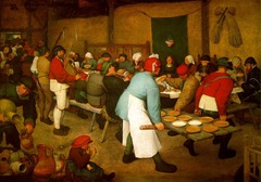 Pieter Bruegel the elder  Peasant Wedding 1568