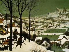 Pieter Brueghel. Return of The Hunters. 1565. oil on panel.
