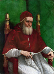 Pope Julius II (painting by Raphael)