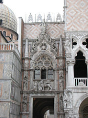 Porta della Carta, entrance to Doge's Palace