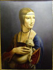 portrait of cecilia gallerani, da vinci, 1490, milan