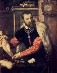 Portrait of Jacopo Strada, Titian, 1567-8, oil on canvas