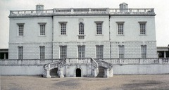 Queen's House, 1616-1635, Inigo Jones, Greenwich, England. - Jones rejected contemporary 17th century design, and favored Early Italian Renaissance architecture up to Palladio - Static architecture