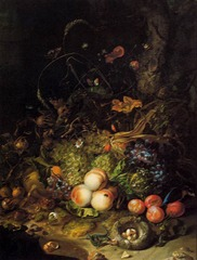 Rachel Ruysch, Flowers and Insects, Pitti Palace