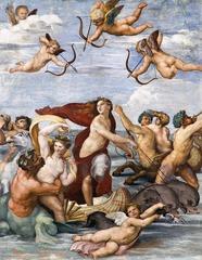 Raphael Galatea, Villa Farnesina Rome 1513