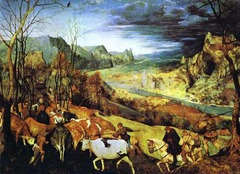Return of the Herd (Autumn) Artist: Pieter Bruegel Themes -