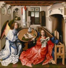 Robert Campin and workshop Merode Altarpiece 1425-1430