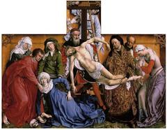 Roger Van der Weyden. Flemish/Netherlandish. The Descent from the Corss (