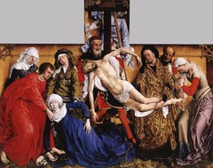 Rogier van der Weyden (d. 1464) Descent from the Cross 1435-1438 oil on panel