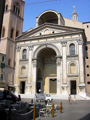 s andrea basilica, LB Alberti, 1470s, mantua