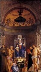S. Giobbe Altarpiece. Bellini