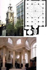 St. Stephen Walbrook, 1672-9, C. Wren, London, England.